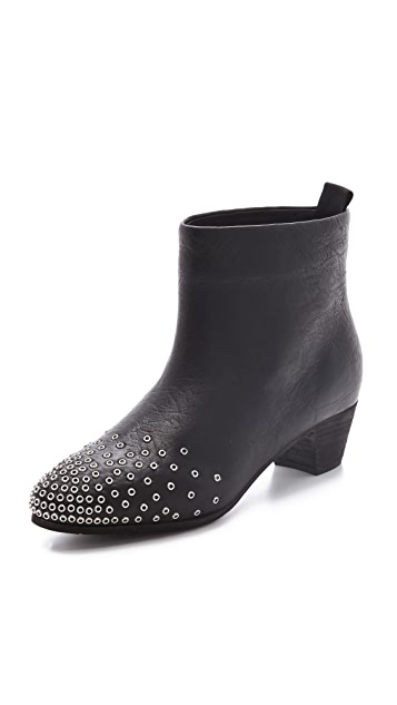 See by Chloe Low Heel Studded Booties