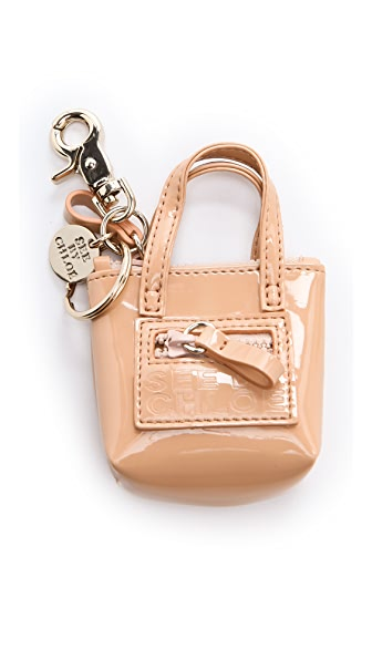 See by Chloe Zip File Keychain