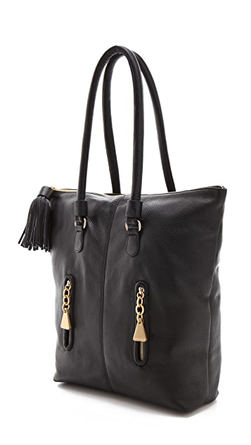 See by Chloe Cherry Zipped Tote