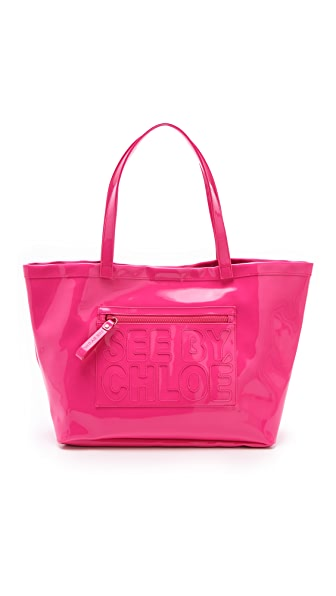 See by Chloe Zip File Large Tote