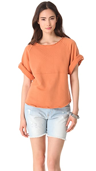 See by Chloe Short Sleeve Sweatshirt