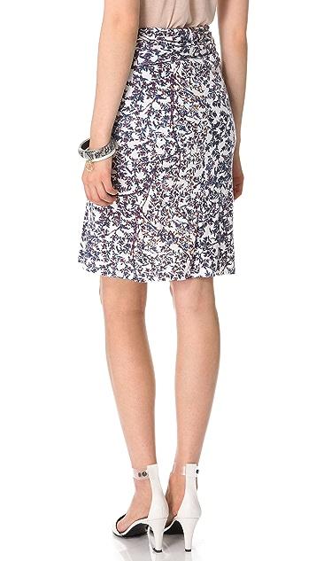 See by Chloe Blossom Print Skirt