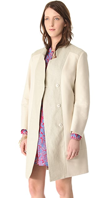 See by Chloe Notched Collar Coat