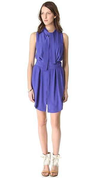 See by Chloe Neck Tie Dress