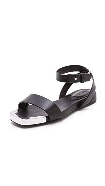 See by Chloe Metal Detail Flat Sandals
