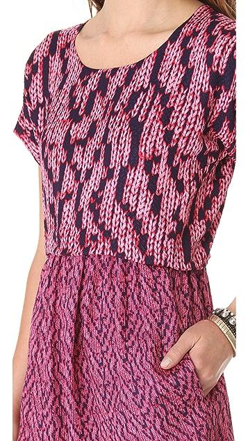 See by Chloe Granit Print Dress