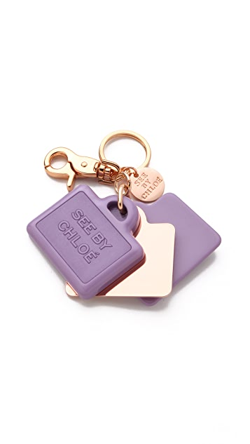 See by Chloe Suitcase Keychain
