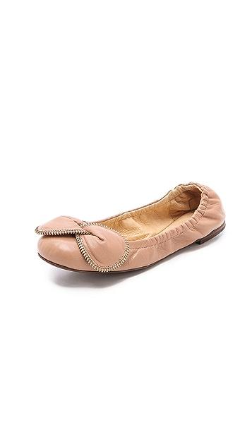 See by Chloe Elastic Ballet Flats