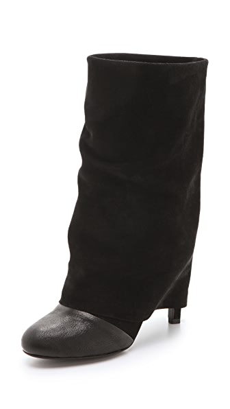See by Chloe Cuffed Mid Heel Boots