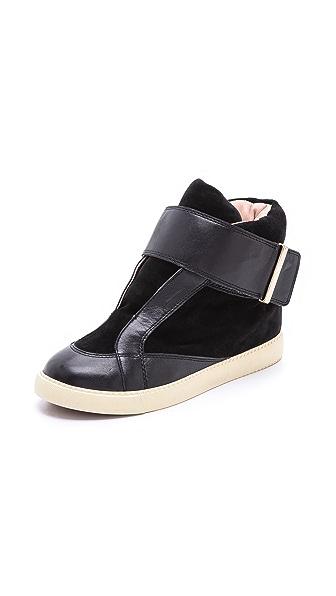See by Chloe Suede Skater Sneakers