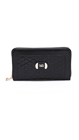 See by Chloe Mina Long Zipped Wallet