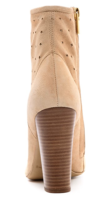 See by Chloe Perforated Suede Booties