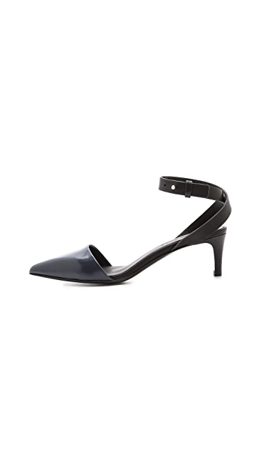 See by Chloe Ankle Strap Pumps