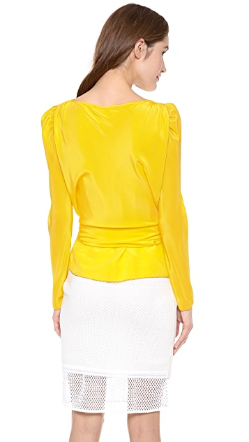 See by Chloe Blouse with Tie Waist