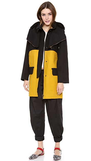 See by Chloe Hooded Parka