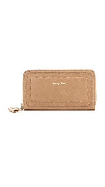 See by Chloe Kay Long Zipped Wallet