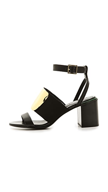 See by Chloe Banded Block Heel Sandals
