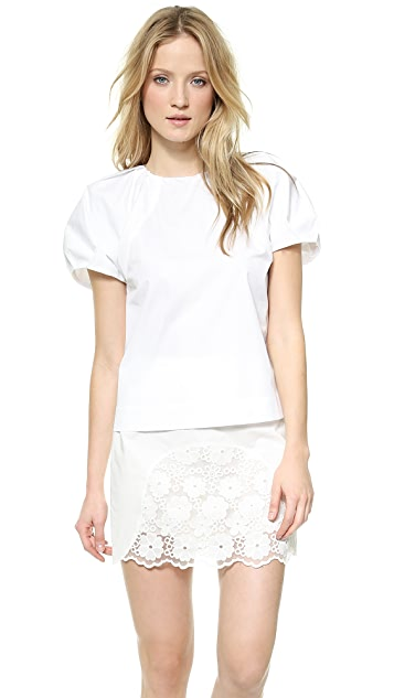 See by Chloe Puff Sleeve Top