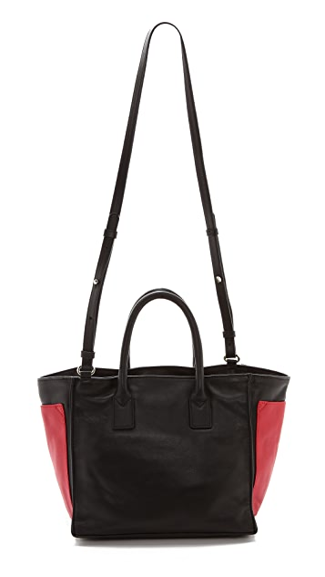 See by Chloe Nellie Medium Zipped Tote with Crossbody Strap