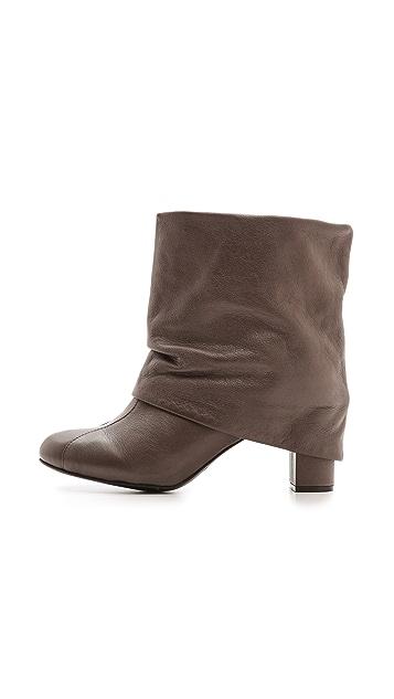 See by Chloe Cuffed Mid Heel Booties