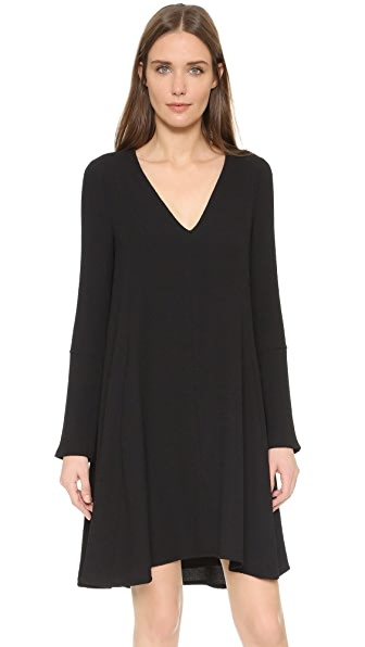 See by Chloe V Neck Long Sleeve Dress