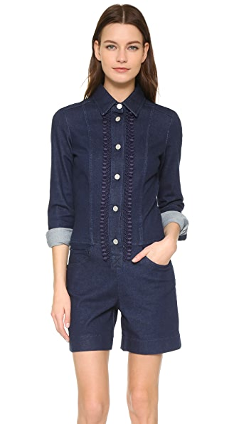 See by Chloe All In One Denim Romper