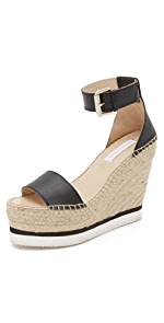 Glyn Espadrille Wedge Sandals                See by Chloe