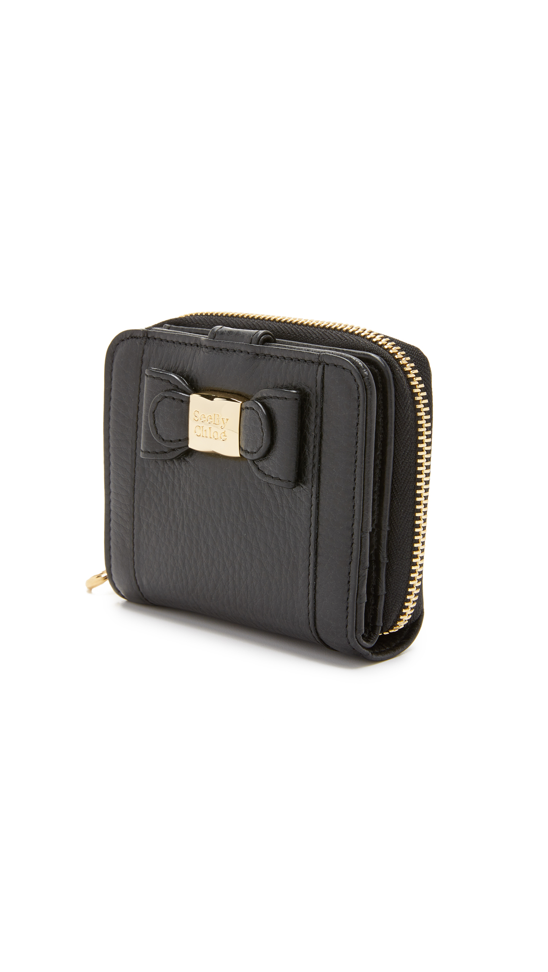 Mino Small Wallet in Black See By Chloé 2018 New For Sale FhfmZZDab
