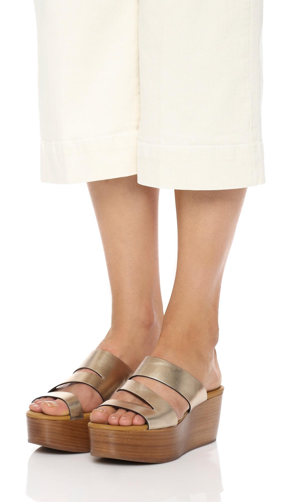 ccfdb5923494 See by Chloe Dania Platform Wedge Sandals