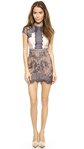 Self Portrait Lace Sequence Dress