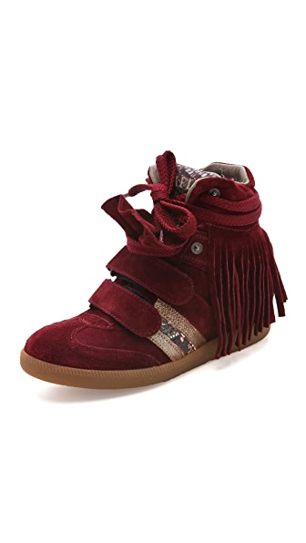 Serafini Manhattan Limited Edition Wedge Sneakers