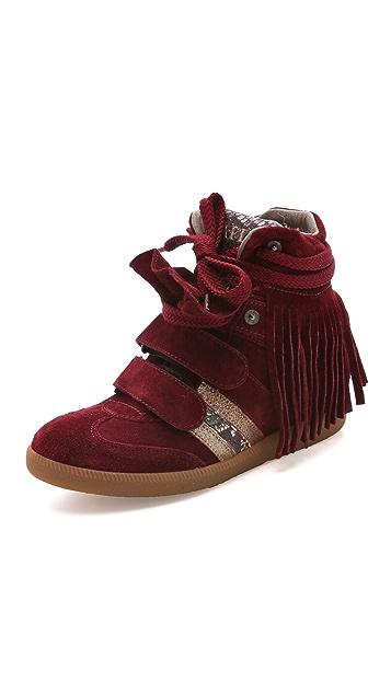Serafini Manhattan Limited Edition Wedge Sneakers