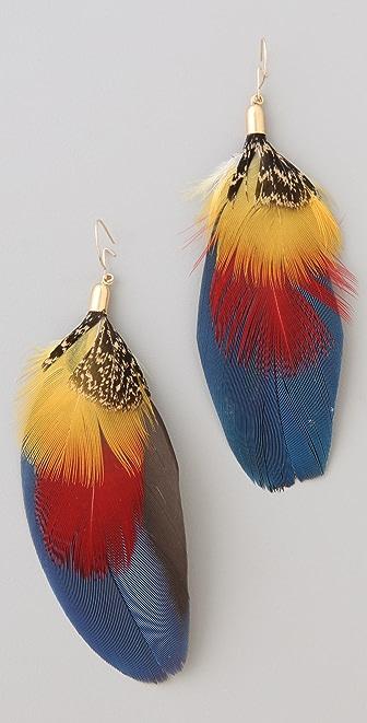 serefina Mod Parrot Earrings