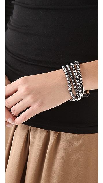 serefina Triple Wrist Candy Bracelet