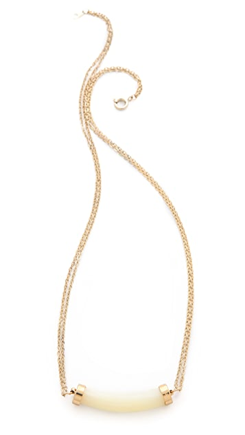 serefina Delicate Double Chain Necklace