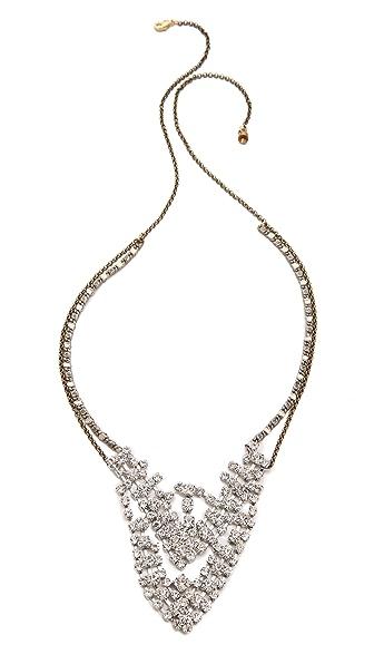 serefina Crystal Encrusted Necklace