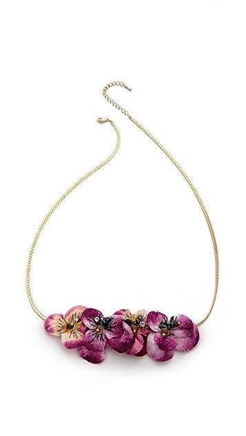 serefina Floral Necklace