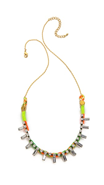 serefina Neon Crystal Necklace