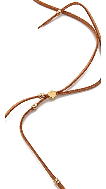 serefina Beaded Tassel Necklace
