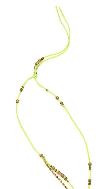 serefina Long Layered Bead Necklace