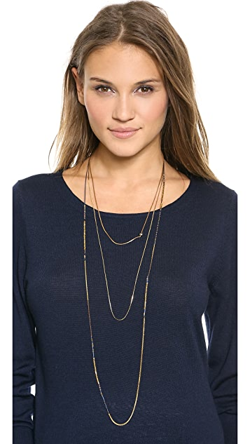 serefina Triple Layer Necklace