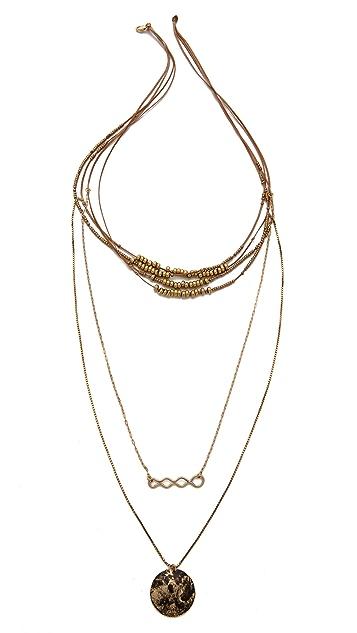 serefina Multi Layer Necklace