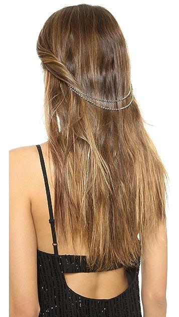 serefina Crystal Hair Piece