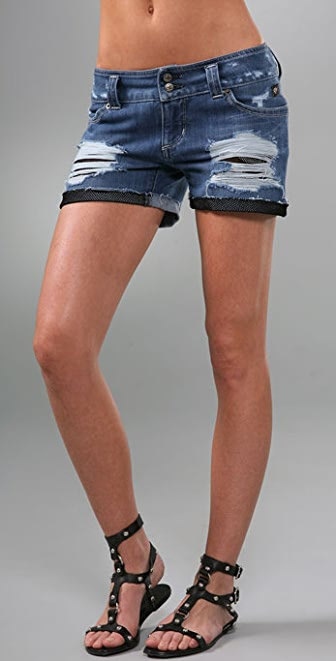 Serfontaine The Vandal Denim Shorts