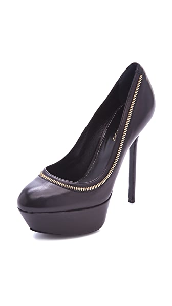 Sergio Rossi Agata Zipper Pumps