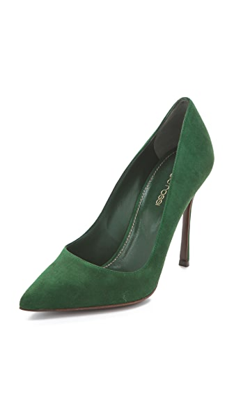 Sergio Rossi Godiva Pointy Toe High Heel Pump