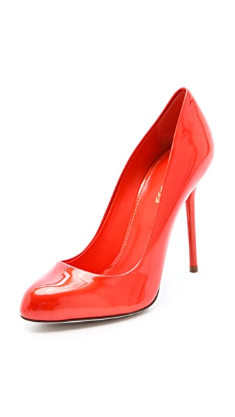 Sergio Rossi Metallic Patent Pumps