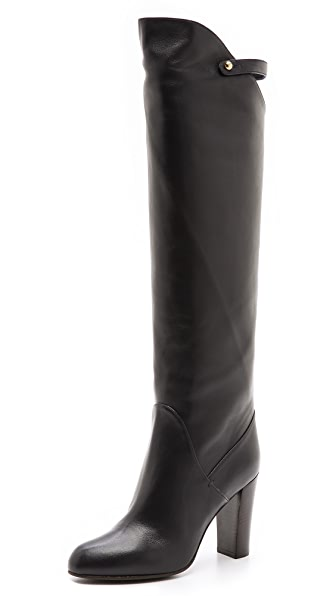 Sergio Rossi Leather Heeled Boots