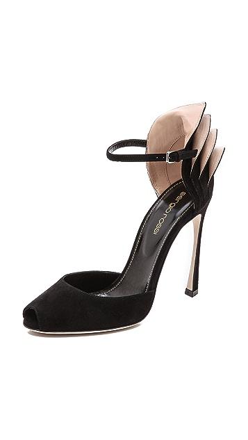 Sergio Rossi Fleur Sandals