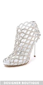 Mermaid Cage Booties                Sergio Rossi